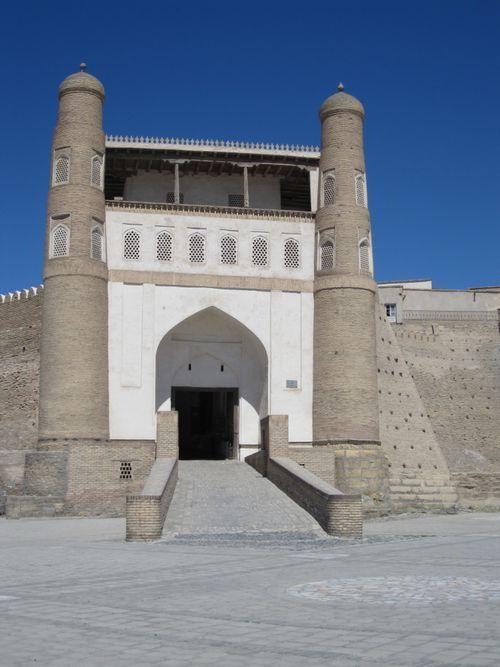 Boukkhara entrée citadelle